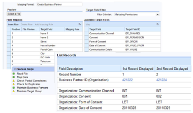 SAP CRM ELM para Marketing Permissions