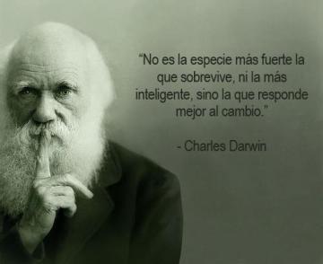 Adaptarse al cambio Charles Darwin