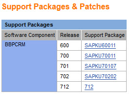 Notas - Support Packages
