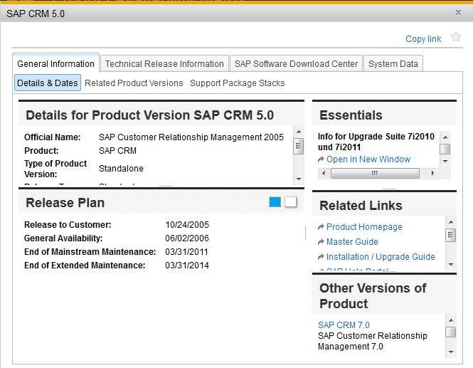 SAP PAM - CRM 5.0